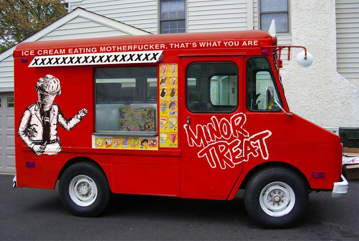 Minor Threat Ice Cream Truck…