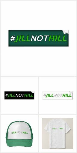 Jill Stein / Green Party Collection of political gifts, bumper stickers, etc.  Bernie Sanders may have let us all down, but you can still continue the revolution without lowering yourself to vote for Hillary Clinton.    Go Green and support Jill Stein for president in the 2016 election.  #neverhillary #crookedclinton #crookedhillary #DemExit #GoGreen #itsinourhands #jillstein2016 #clintoncash #feelthebern #bernieorbust #stillsanders #election2016