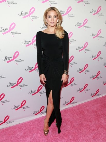 Kate Hudson at the Breast Cancer Research Foundation's annual Hot Pink Party in NYC.