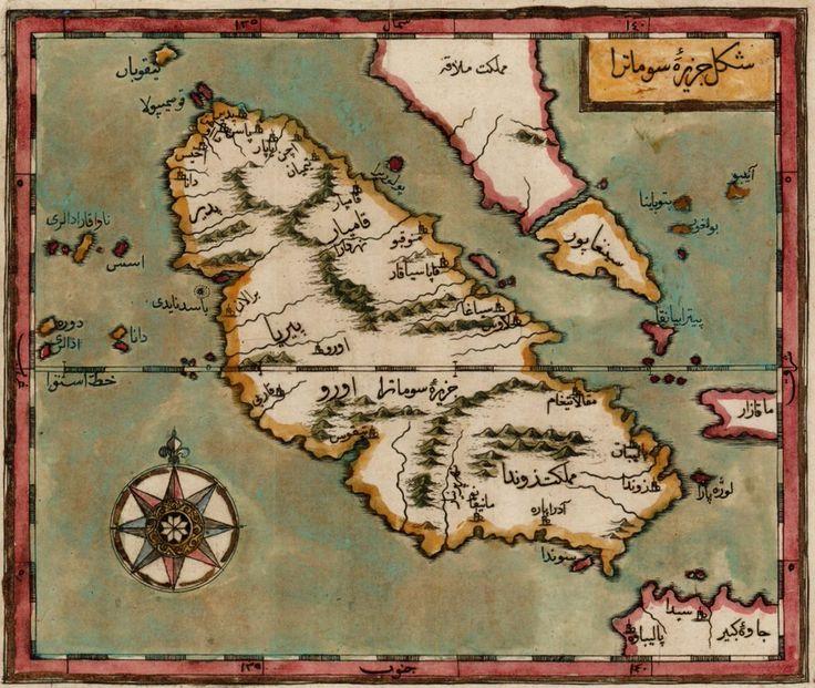 Kâtip Çelebi Singapur haritası
