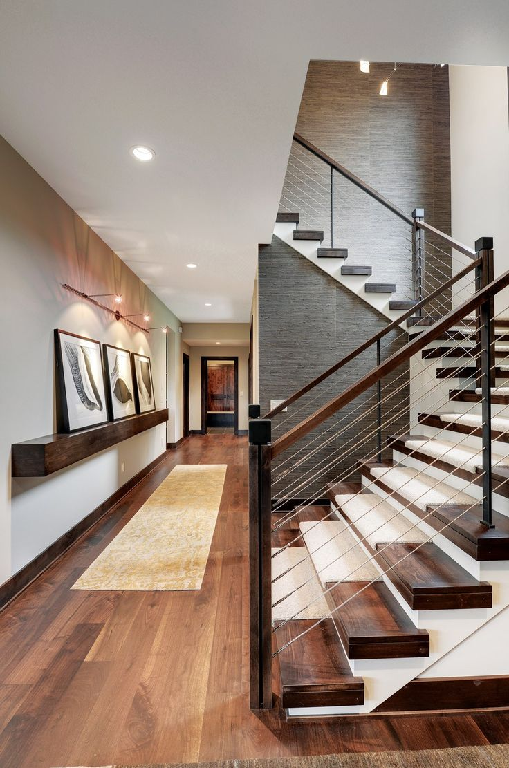 best midwest home design. Modern Mountain Lodge by Denali Custom Homes 15 best Staircases  Midwest Home Magazine images on Pinterest
