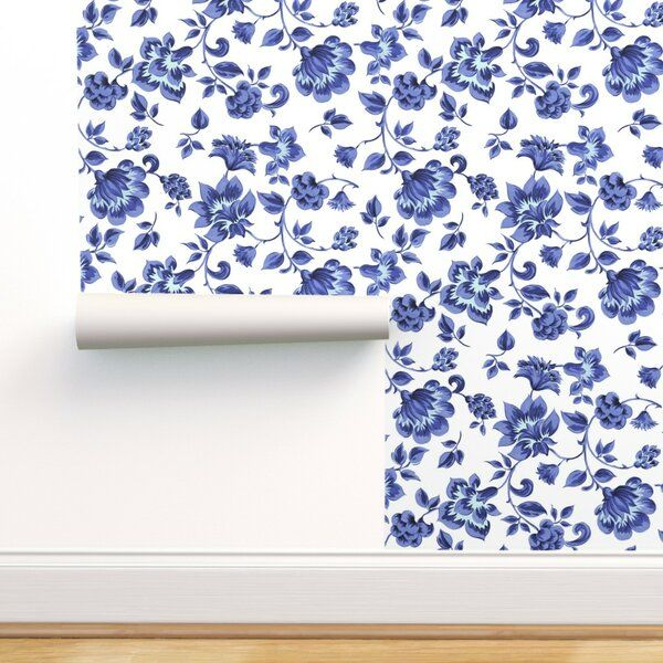 Nakita Flowers Removable Peel And Stick Wallpaper Roll Wallpaper Peel And Stick Wallpaper Perfect Wallpaper
