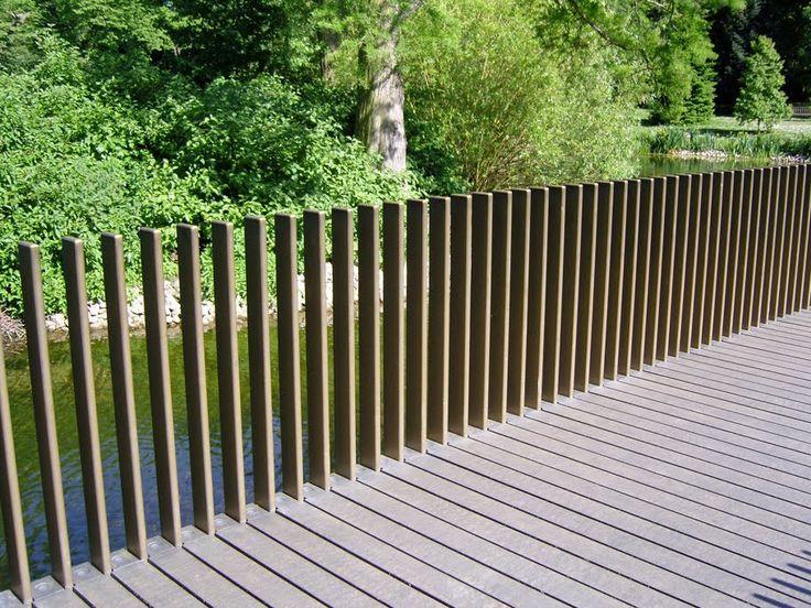 vertical guardrail