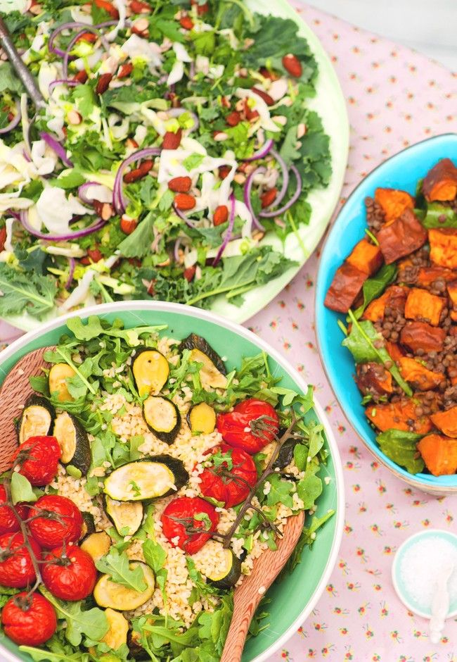 A trio of summer salads | Good Magazine Photography Amanda Reelick