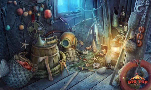 Hidden Object Scenes for Big Top Games by Anna Żukrowska, via Behance