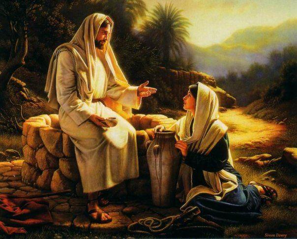 Greg Olsen Prints of Jesus | greg olsen the story of jesus and the samaritan woman has always ...