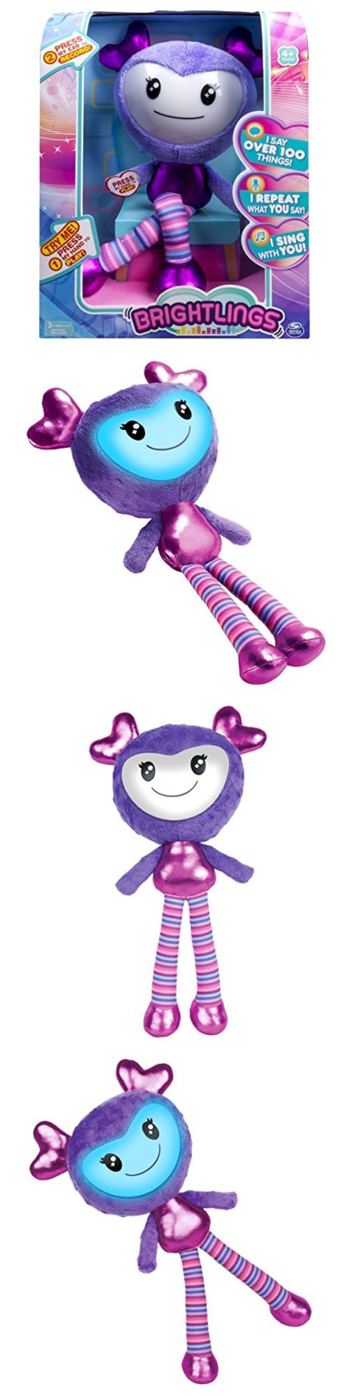 Wiggles 20923: Plush Toy Doll Brightlings Interactive Singing Talking 15 Purple New Girls Gift -> BUY IT NOW ONLY: $31.28 on eBay!