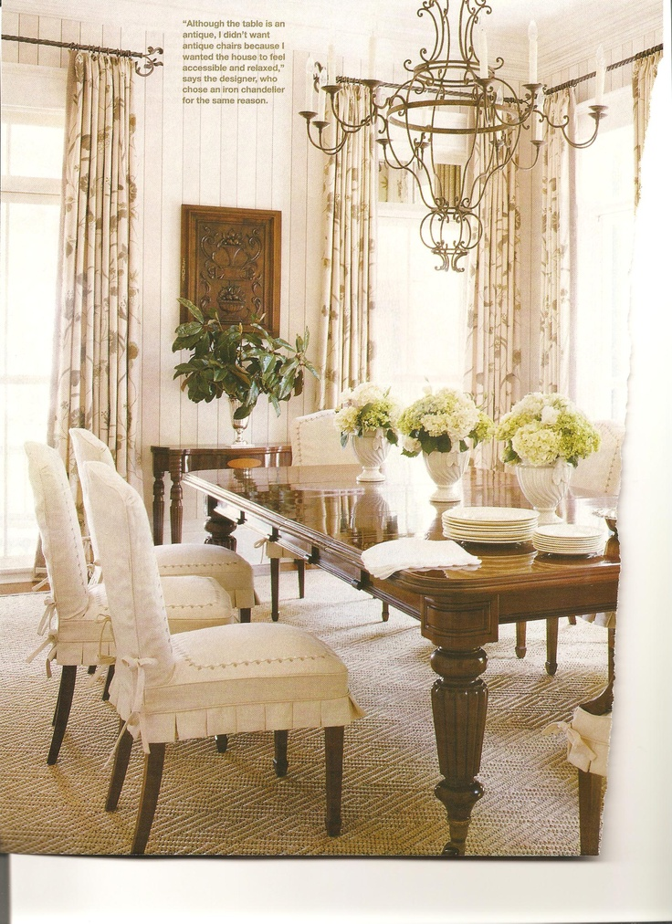 Dining Slipcovers · Dining Room DesignChair ... Part 15