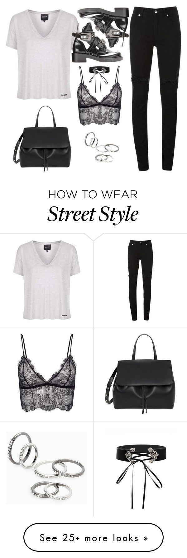 """Sans titre #2912"" by christina95styles on Polyvore featuring Topshop, Mansur Gavriel, McQ by Alexander McQueen, Anine Bing and MANGO"