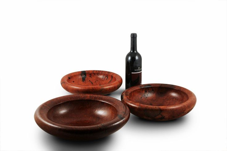Buy Handmade Turned Round-Edge Redgum Burl Bowl Online | Australian Woodwork