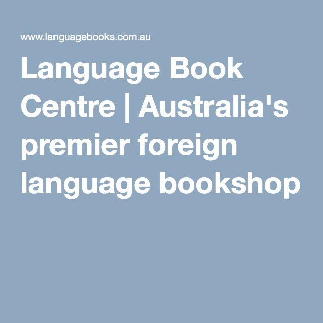 Language Book Centre | Australia's premier foreign language bookshop