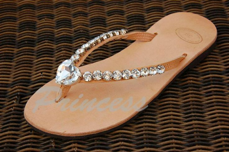 #princess #sandals #ancient #greek #crystal #sparkle #decorated #pink #handmade #bridal Greek sandals decorated with crystals