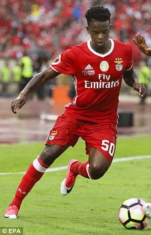United are interested in Benfica's Nelson Semedo, according to O Jogo