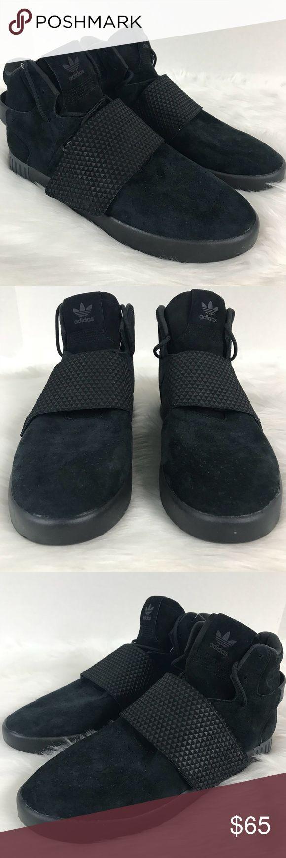 adidas courroie tubulaire triple en daim noir taille adidas originaux originaux adidas 0d3c36
