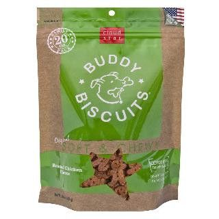 Cloud Star 6/20 oz. Original Soft & Chewy Buddy Biscuits Dog Treats - Roasted Chicken Value Bag
