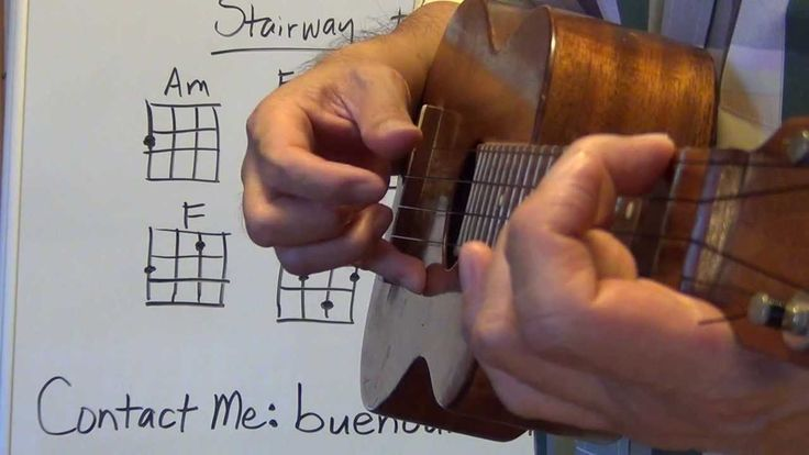 How to play Stairway to Heaven intro Ukulele Lessons