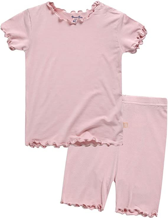 Amazon Com Vaenait Baby Toddler Kids Girls Boys Solid Short Soft Shirring Viscose Cool Warm Fabric Pjs Sleepwear Pajama In 2020 Clothes Childrens Clothes Cool Outfits