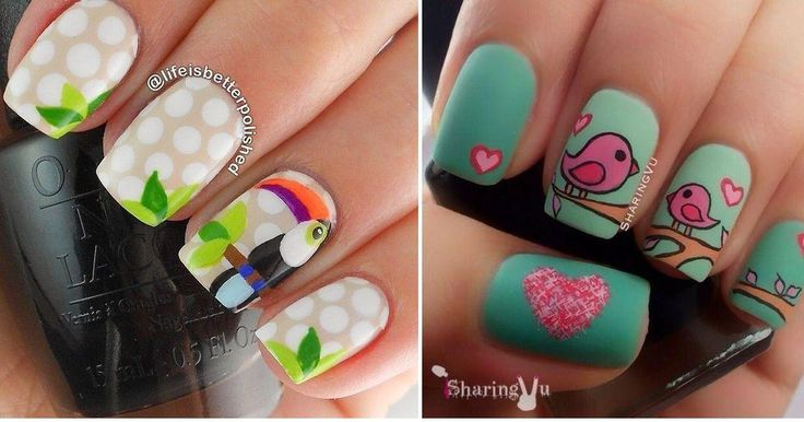 Si te apasionan los animales, ¡no te puedes perder estos divertidos diseños de uñas!    http://cg.facilisimo.com/dsk/2119124.html?fba