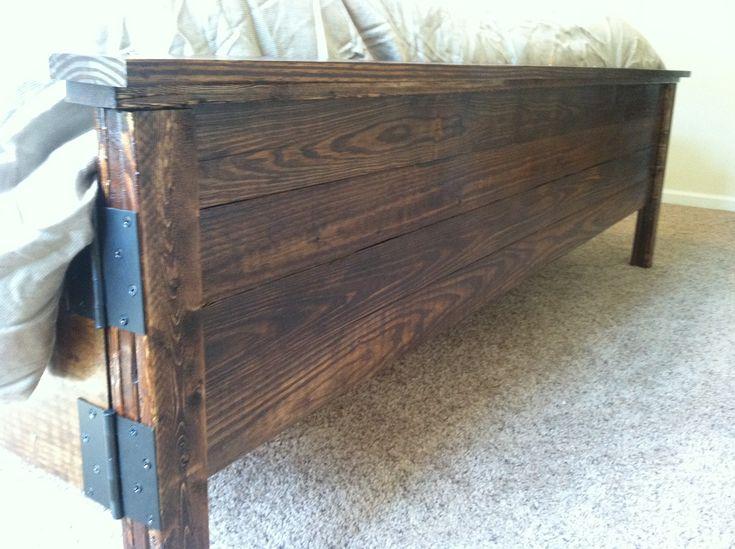 do it yourself rustic headboards | Rustic king size bed | Do It Yourself  Home Projects