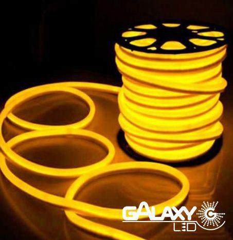 Mangueira Neon LED Amarela GalaxyLED -