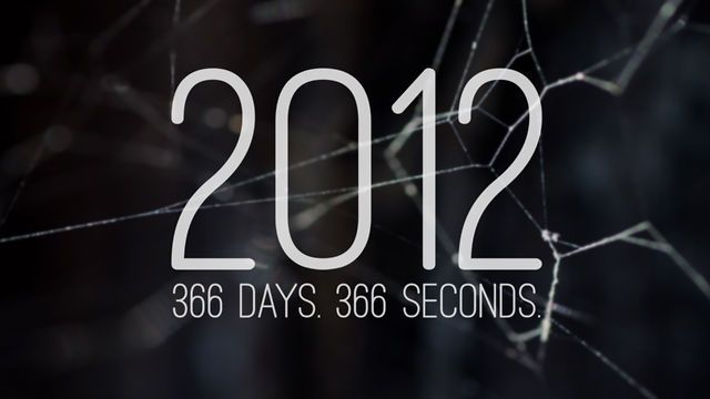 2012. 366 days. 366 seconds. by Jonathan Britnell. I filmed one second every day of 2012.