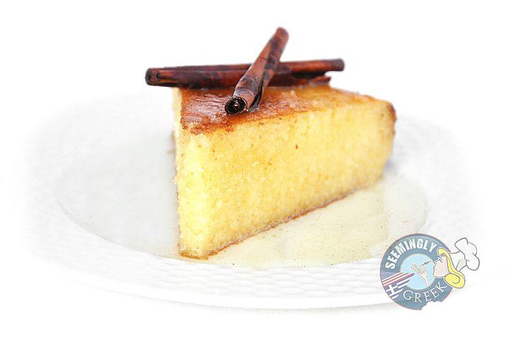 Ravani (Greek Syrup Cake)  I've that this many times and it's soooo good!