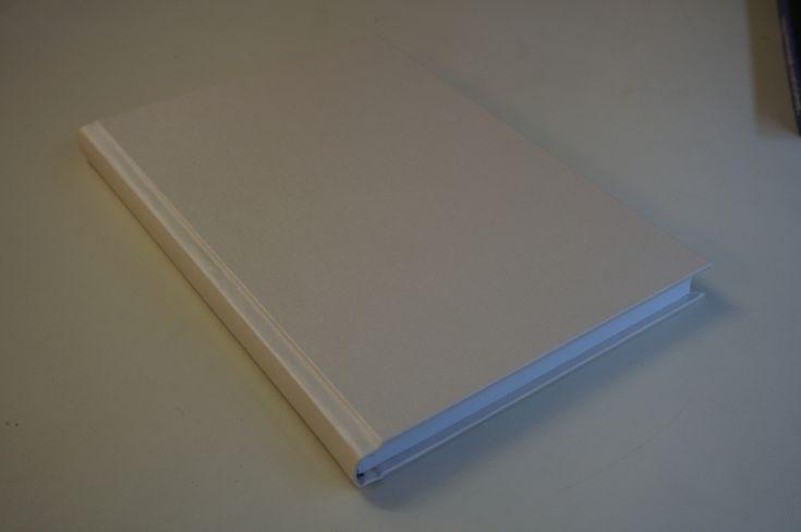 Notitieboeken A4 wit linnen dummy boek kopen canvas witte notitieboek a4 formaat 166 blanco bladen standaard kopieerpapier / lijntjes papier notitie boek dikte 2cm -