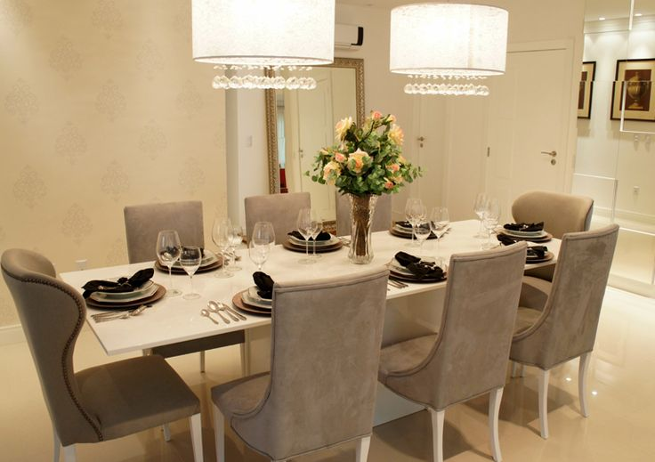 17 best images about sala de jantar on pinterest mesas - Mesas de sala modernas ...
