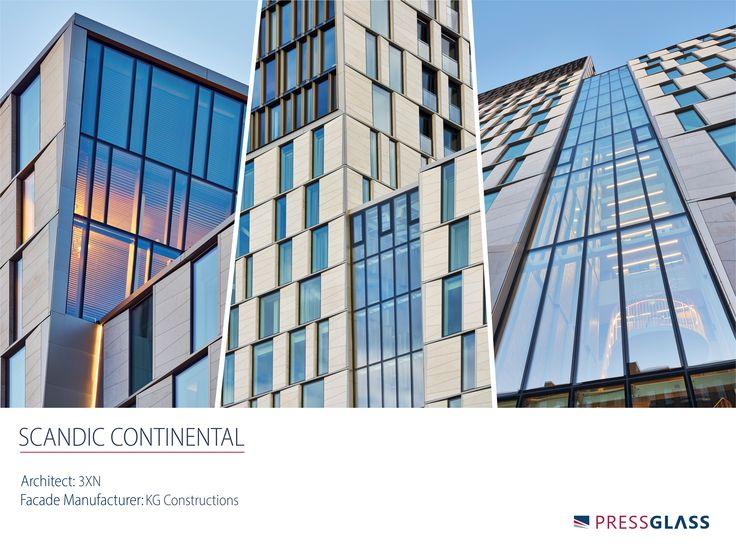 SCANDIC CONTINENTAL HOTEL in Stockholm (Sweden) - The investment used a total of about 3.6 thousand m² of high quality façade glass manufactured by our company. / SCANDIC CONTINENTAL HOTEL w Sztokholmie (Szwecja) - W inwestycji tej wykorzystano w sumie ok. 3,6 tys. m² wysokiej jakości szyb fasadowych naszej produkcji.