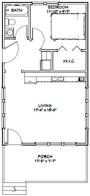 317 best images about small house plans on pinterest one for 18x30 house plans