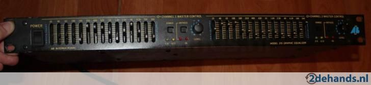 Equalizer AB model 215 (Te Koop)