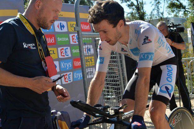 Stage 13. Bourg-Saint-Andéol to La Caverne du Pont-d'Arc. Adam Yates.