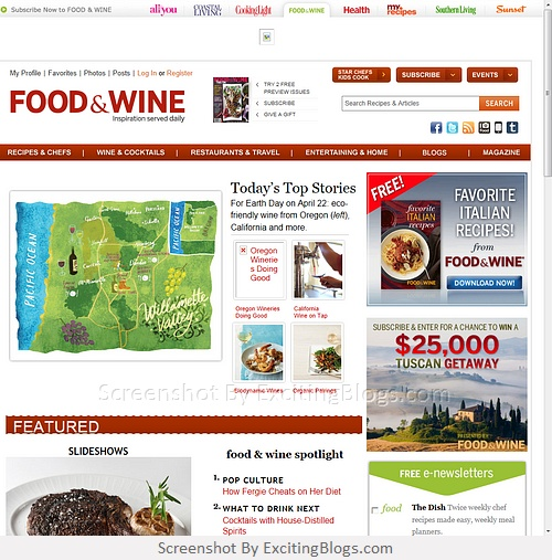 Food & Wine Magazine   Recipes, Menus, Chefs, Wine, Cooking, Holidays, Entertaining - Click to visit site:  http://1.33x.us/HTLCPN