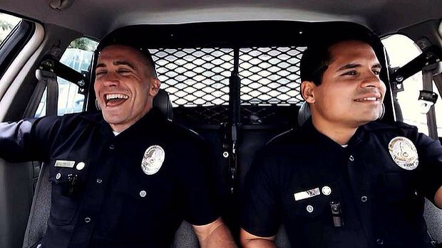 """""""He was my brother."""" -End of Watch. This movie breaks my heart."""