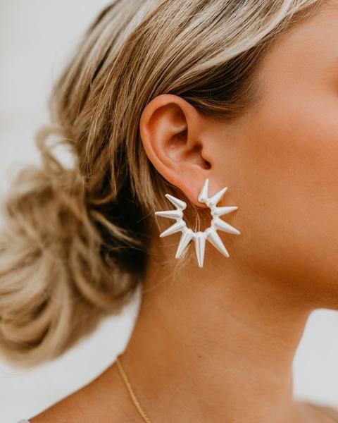 86aefa0c2 Spikey + Sweet Earrings - Silver | Jewelry-Earrings in 2019 ...