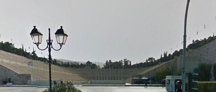 Google Maps - Kallimarmaron Stadion Athens Greece #hellas #stadium https://www.google.com/maps/place/Panathenaic+Stadium,+Leof.+Vasileos+Konstantinou,+Athina+116+35/@37.9697331,23.7397504,3a,67.2y,152.11h,86.59t/data=!3m4!1e1!3m2!1sWiM5DuBDHOxwXVSz3FxWMg!2e0!4m2!3m1!1s0x14a1bd6adebf1261:0xa74ab8bf25aeb046
