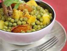 Erbsen-Kartoffel-Curry vegetarisch