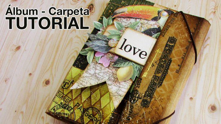 Tutorial: Álbum Carpeta / Folio Folder Album
