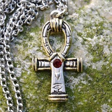 Anch je známý staroegyptský amulet, symbol věčného života. Anch, známý taktéž jako Nilský kříž, je jedním z nejdůležitějších symbolů starého Egypta, je často spojován s bohyní Isis. Anch je vnímán jako nositel života a nesmrtelnosti. Jako hyeroglifická značka ztvárňuje život a sílu.