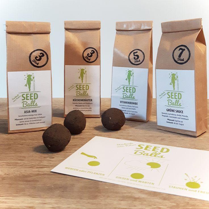Sparfüchse aufgepasst! Im Online-Shop gibt es das kleine Sparpaket mit meinen Kräutermischungen: Vier Sorten Seedballs kaufen und sparen: Asia-Mix, Küchenkräuter, Vitaminbombe und Grüne Sauce  #seedbombs #seedballs #kräuter #geschenkidee