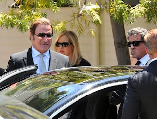 Chatter Busy: Sage Stallone: Private Funeral
