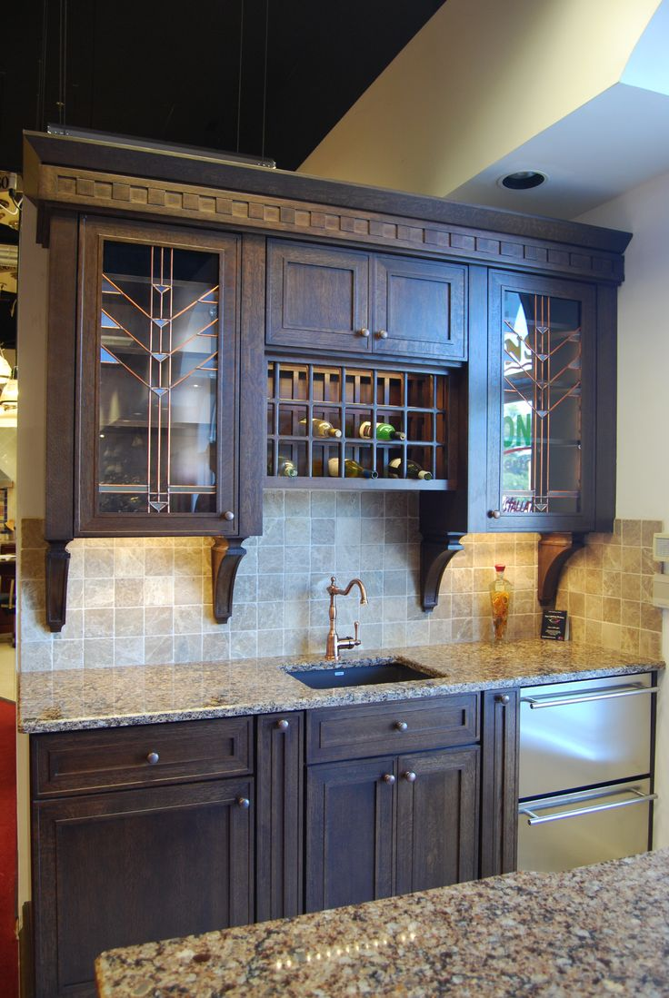 This is a display located at mckenna 39 s kitchen and bath for Mckenna s kitchen and bath