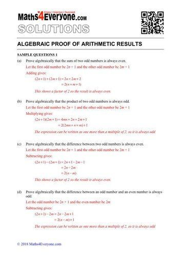 Algebraic Proofs Worksheet with Answers Workbook in 2020 ...