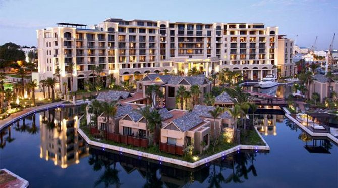 Apartments at V&A Waterfront in Cape Town