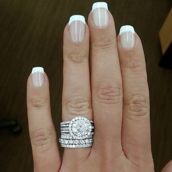 best 25 pearl wedding bands ideas on pinterest pearl engagement ring vintage vintage rings and wedding rings vintage - Wedding Rings Bands