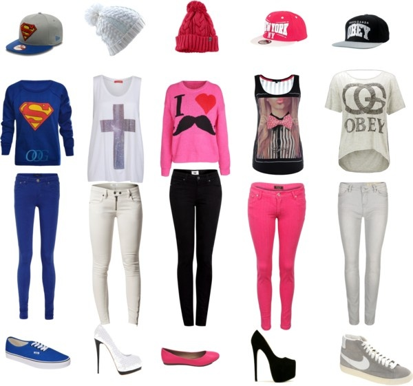 """""""Tenues Swag"""" by vivi-75 ❤ liked on Polyvore"""