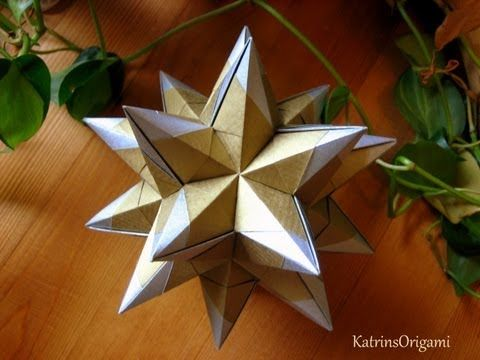 Origami ❉ Queen`s Crown ❉ Kusudama - YouTube
