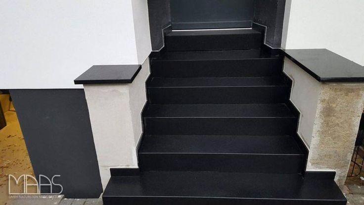 #Nero #Assoluto #Granit #Treppenstufen #Granit  #Granittreppen #Treppen  http://www.maasgmbh.com/aktuelle-koeln-nero-assoluto-granit-treppenstufen-nero-assoluto-koeln