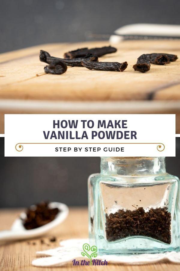 How To Make Vanilla Powder Recipe Baking Soda Uses Baking Vanilla Bean Powder