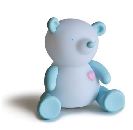 Giimmo Night Light - Terry the Bear - $49.95 - Adorable rechargeable Giimmo Night Light, Terry the Bear!  Earnest, sweet and cheerful!  Introducing the world's most effective night light by far!  Don't believe us?  Just wait and see - these magical night lights will become your little ones best friend and bed time will never have been so easy! #littlebooteek #boys #bedroom #nursery #decor #lighting #giimmo